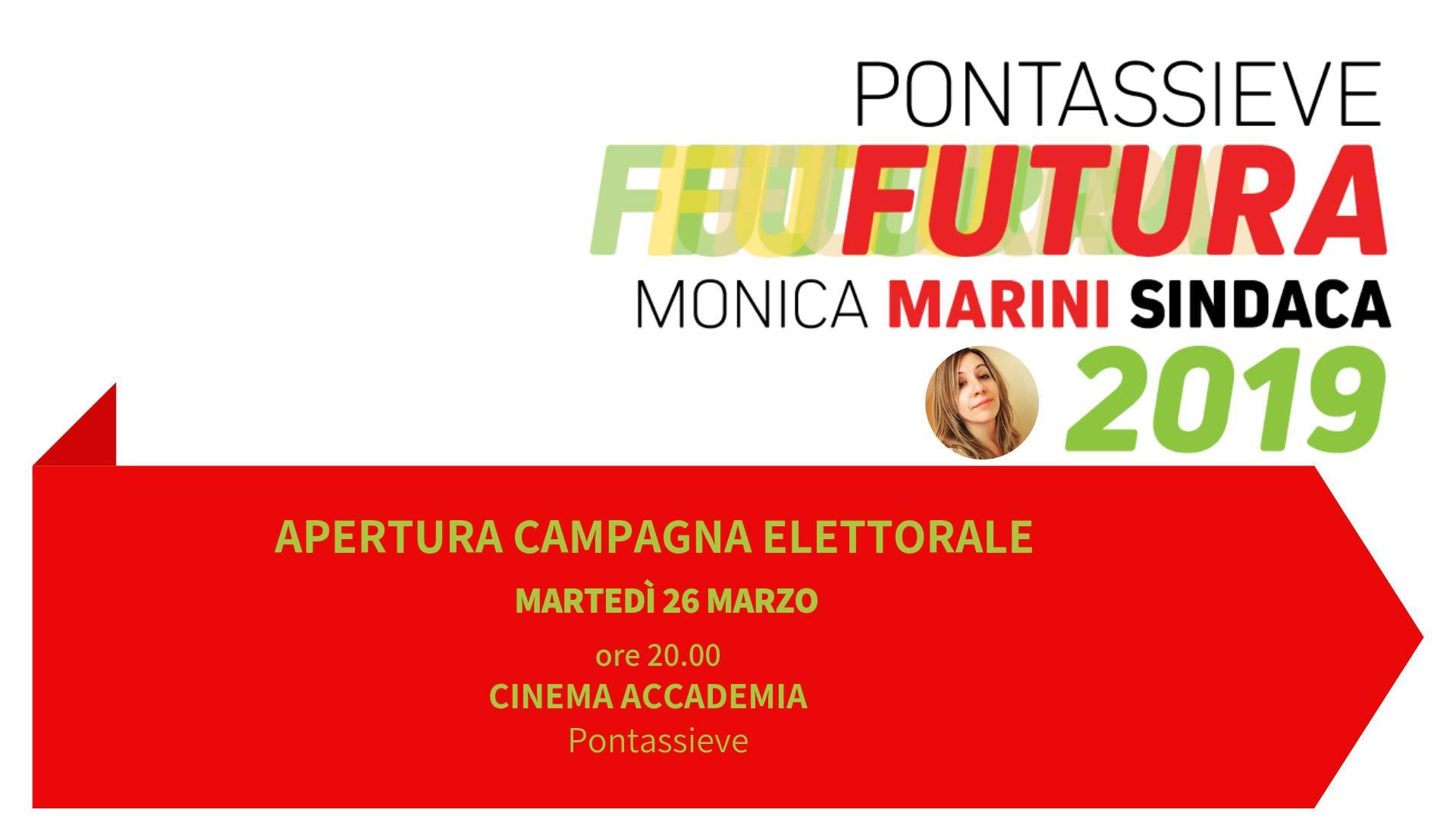 Pontassieve: apertura campagna elettorale per le Amministrative 2019